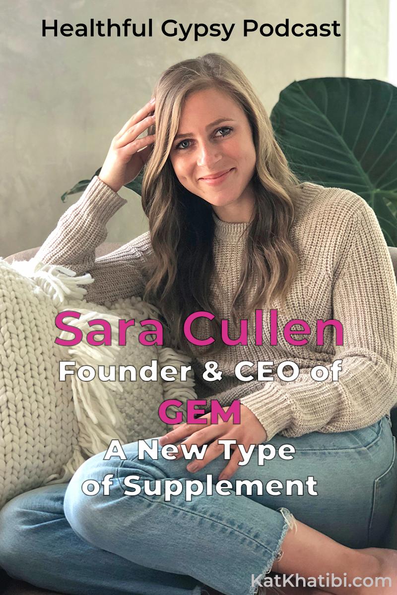 Sara Cullen of GEM CBD on the Kat Khatibi Podcast